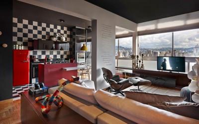Хармонично и удобно уреден стан во Бразил