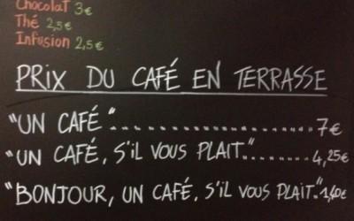 Кафуле во Ница кое скапо ја наплатува непристојноста