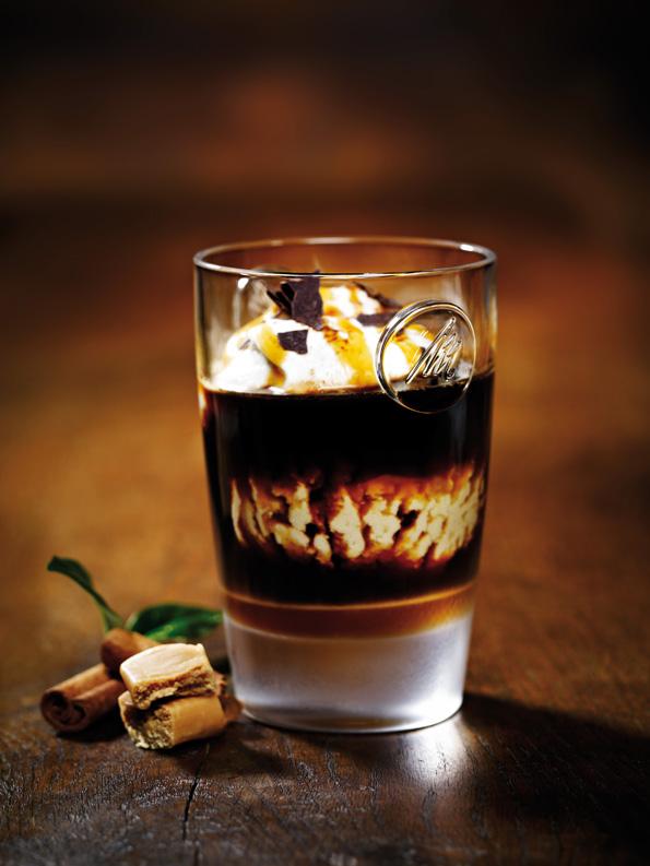 Моќно и интензивно кафе со карамел