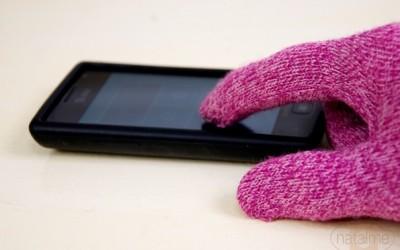 Направете сами: Зимски ракавици за екран на допир