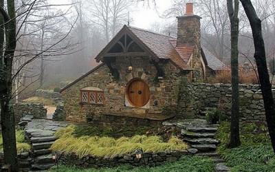 Одлична хобиткса куќа инспирирана од делата на Толкин