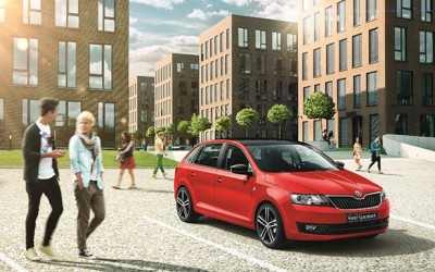 Пристигна ŠKODA Rapid Spaceback – новиот градски заводник