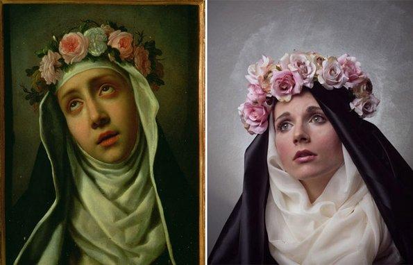 """""""Св. Роза од Лима"""", Карло Долчи - преработено од Жиневјева Блаш"""