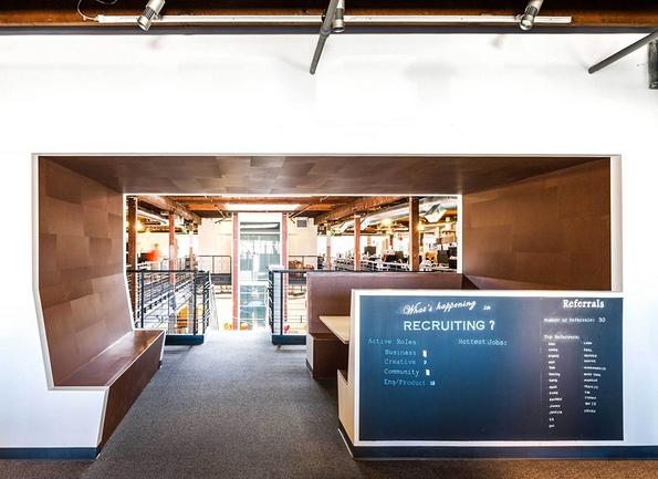 """(12) Новите канцеларии на """"Пинтерест"""" во Сан Франциско"""