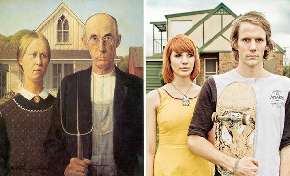"""""""Американско готски"""", Грент Вуд - преработено од Џеси џон Ханифорд"""