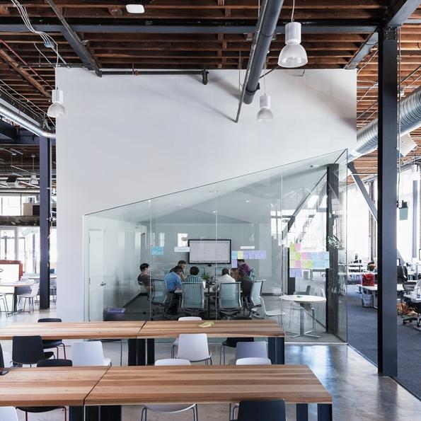 """Новите канцеларии на """"Пинтерест"""" во Сан Франциско"""