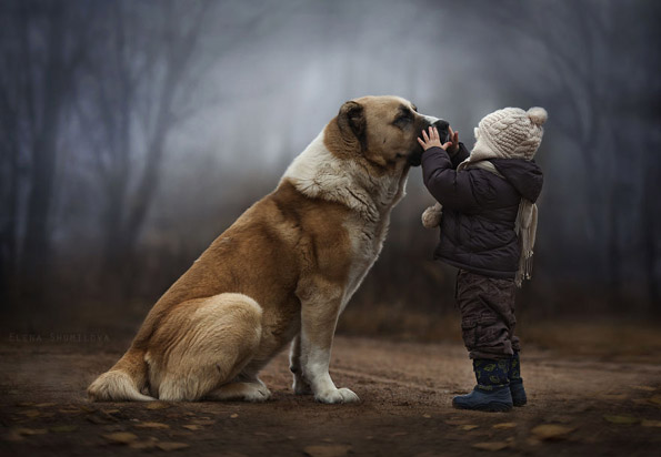 Топли фотографии со дечиња и нивната дружба со животните
