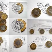 Малку поинакви цртежи со молив