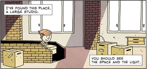 Најдов едно добро место – голема работилница.  Да ги видиш само просторот и осветлувањето.