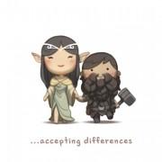 Прифаќање на нашите различности