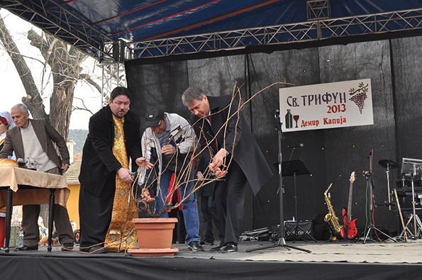 """Демир Капија со специјална програма за прослава на """"Св. Трифун"""""""