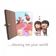 Да ми го покажеш твојот свет