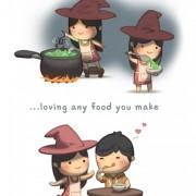 Да ја сакам секоја храна што ќе ја зготвиш