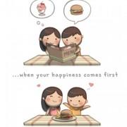 Кога твојата среќа доаѓа пред мојата