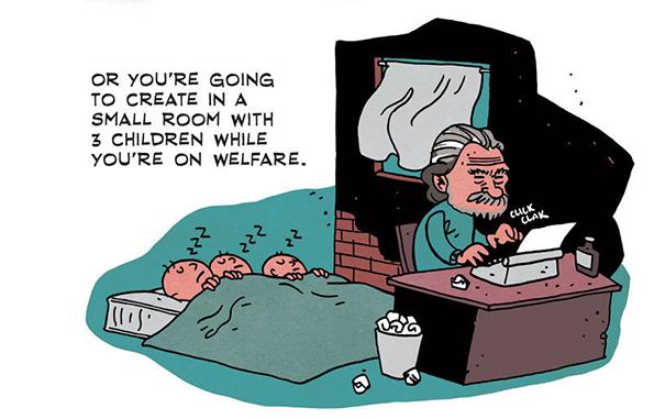 Или ќе создаваш во мала соба со 3 деца и се издржуваш со социјална помош.