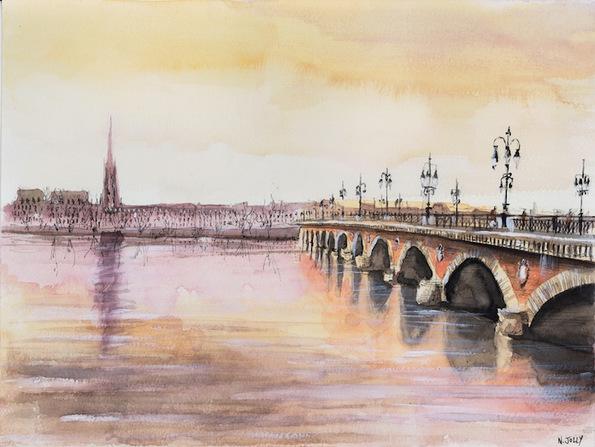 Извонредни уметнички цртежи од архитектурата во Франција