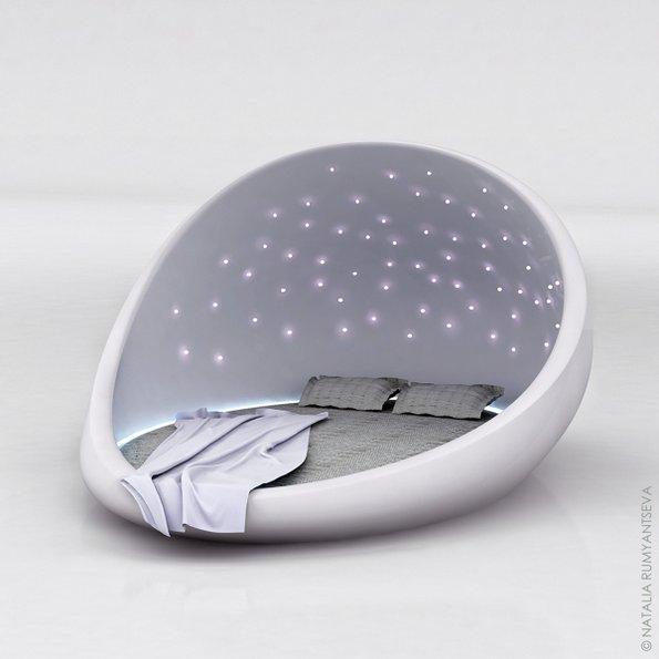 Кревет за мирен сон под ѕвездено небо