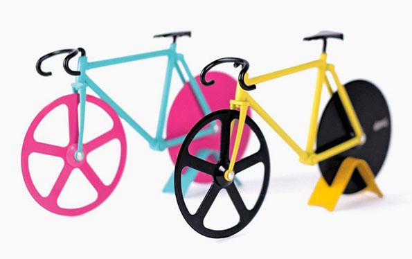 Велосипед кој ја сече вашата пица
