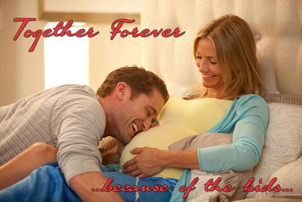 Вечно заедно …заради децата…