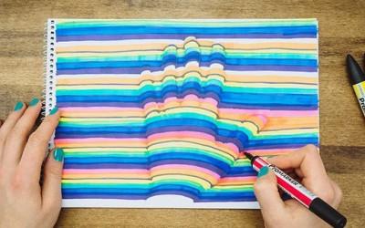 Како да си ја нацртате раката во 3Д?