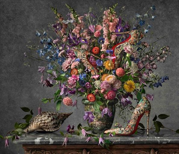 Уметност со чевли: Пролетната кампања на Кристијан Лубутан