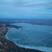 13. Можеби за првпат ќе видите смрзнато езеро