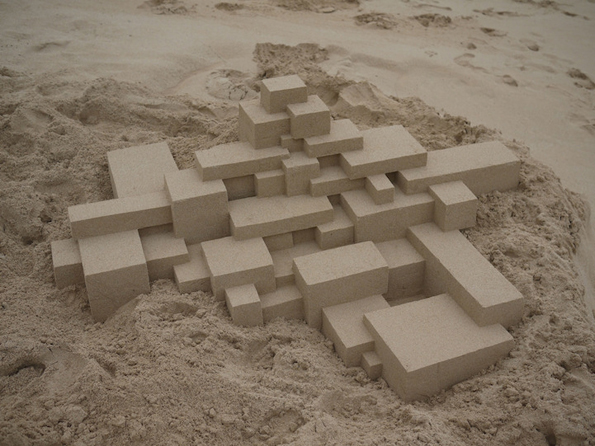 Неверојатни геометриски замоци од песок