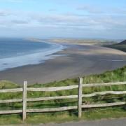 """Rhossili Bay"", Говер, Велс"