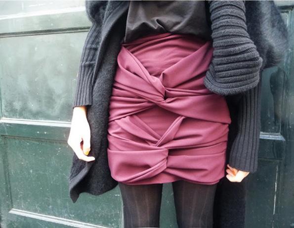 Нов моден тренд: здолништа со јазол