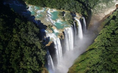 Летајте над прекрасната дива природа во Мексико
