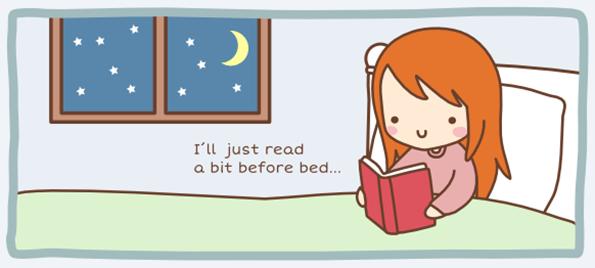 Ќе почитам малку пред спиење...