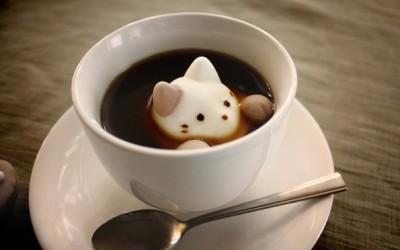 Слатки маршмелоу мачиња, совршен вкусен додаток за вашето кафе