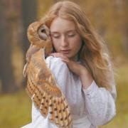 Руска фотографка прави прекрасни мистични фотографии со вистински животни