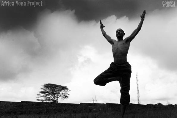 Јога во Африка