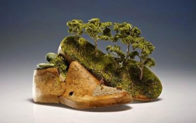 Разиграни минијатурни скулптури раскажуваат имагинативни приказни