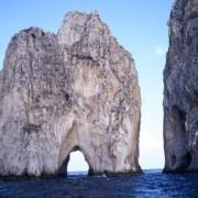 На бреговите на островот Капри