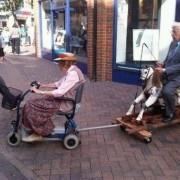 И овој пар, кој заедничкото возење го одвел на повисоко ниво