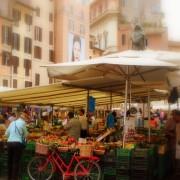 Пазарот во Кампо ди Фиори, Рим