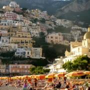 Преубавото село Поситано, на брегот на Медитеранот