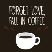 Заборави на љубовта, заљуби се во кафе
