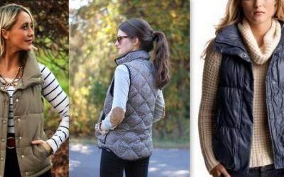 Како да го вметнете вашиот дебел есенски елек во стилска и шик комбинација?