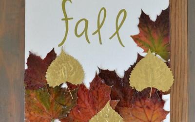 Направете сами: декорација со есенски мотиви