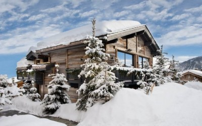 Луксузна вила на Француските Алпи која има сопствена дискотека