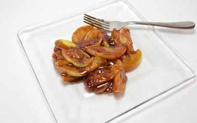 Пржени јаболка со цимет