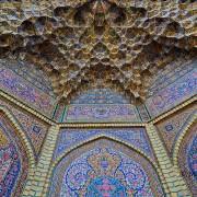 Повторно џамијата Насир Ал-Мулк во Шираз