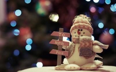 Прекрасни новогодишни и божиќни десктоп позадини