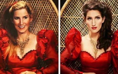 Оваа фотографка совршено ги обновува старите семејни портрети