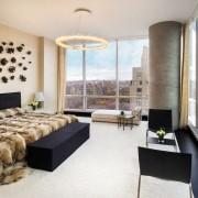 Некои од становите имаат една спална, а некои по шест