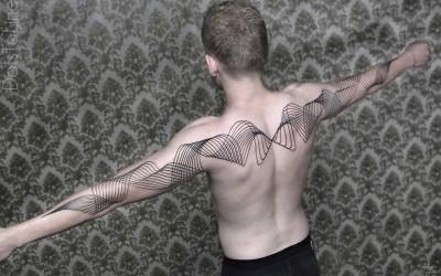 Комплексни геометриски симулации, детално исцртани на човековото тело