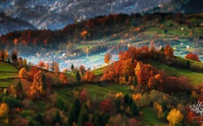 Прекрасните Трансилвански планини во 5 часот наутро
